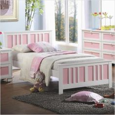 $575.98 Bundle-70 Fun with Color Twin Panel Bedroom Collection (2 Pieces)