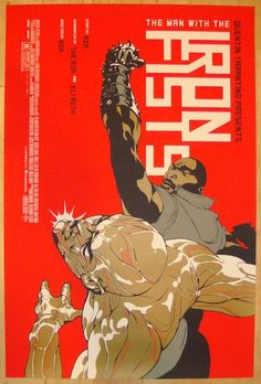 """2012 """"The Man With The Iron Fists"""" - Movie Poster by Hanuka"""
