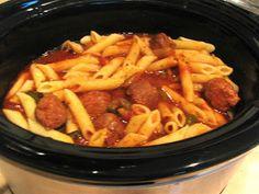 Rita's Recipes: Crock Pot Sausage & Peppers (she has good recipies!)***LL