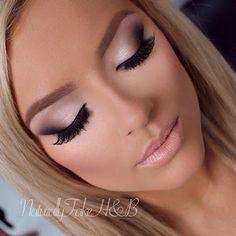 Wedding day makeup idea