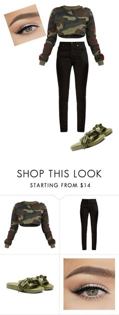 """""""got to finish"""" by nyhaunna on Polyvore featuring Yves Saint Laurent and Puma"""