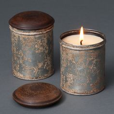 Campfire Candle by Urbanic Paper Boutique.