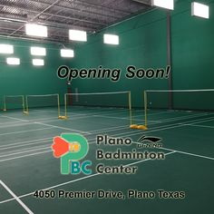 ATTENTION! HOUSTON AREA BADMINTON FANS! The first ever dedicated badminton facility in Texas is opening soon! The Plano Badminton Center boasts four professional grade courts, fresh clean change areas, comfortable seating and viewing and a multi purpose game room! Plus they will carry premium quality, high tech, cutting edge Li-Ning badminton products! #MakeTheChange!