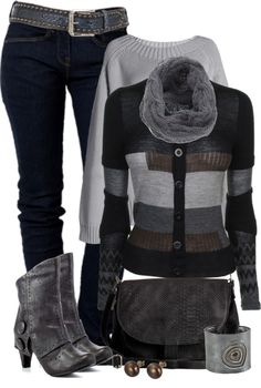 """Sweater"" by johnna-cameron on Polyvore"