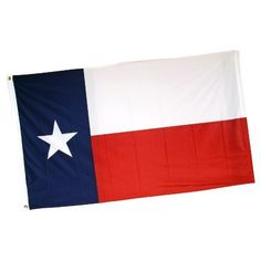 Online Stores Texas Flag printed Superknit Polyester, 3 by 5-Feet by Online Stores. $11.44. Sturdy nylon header and brass grommets. High tech silky looking knitted polyester. Super durable. Our printed Superknit; Polyester Texas flags are very attractive, durable and great value. These flags are printed on a high tech silky looking knitted polyester fabric. This fabric is almost as durable as nylon, and looks great for use outdoors or indoor. At this price why n...