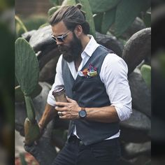 #menandcoffee #beard #homme #style