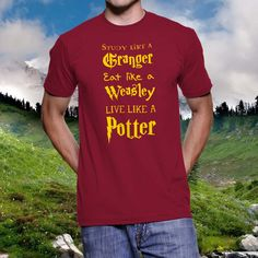 Live Like a Potter - Harry Potter T-Shirt
