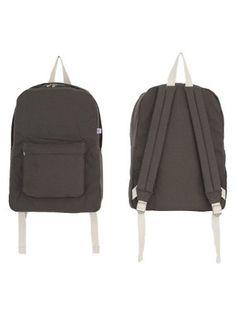 American Apparel Cotton Canvas School Bag -Cypress / Natural American Apparel. $46.00