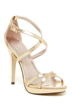 Tarten Platform Dress Sandal by Michael Antonio - Nordstrom Rack