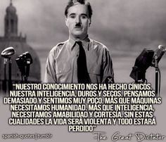 Charles Chaplin - The Great Dictator