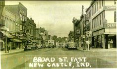BROAD ST Castle Pictures, My Town, Newcastle, Indiana, Painting, Painting Art, Paintings