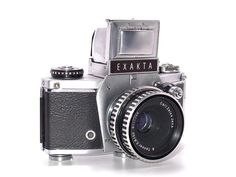 Exacta VX 1000 - fitted with f2.8 50mm Tessar lens by Carl Zeiss #vintage #camera