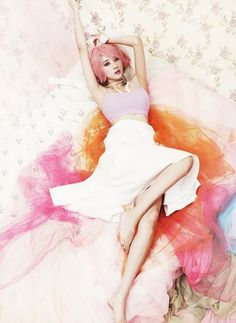 Nine Muses release four individual shots of members with pastel-colored theme | http://www.allkpop.com/article/2015/01/nine-muses-release-four-individual-shots-of-members-with-pastel-colored-theme