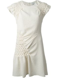 Shop 3.1 Phillip Lim smocked shift dress in Eraldo from the world's best independent boutiques at farfetch.com. Over 1000 designers from 300 boutiques in one website.
