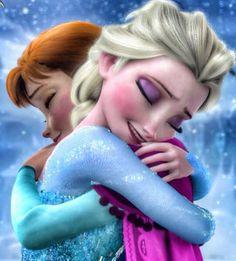 Hugs!!!!!! Frozen disney.