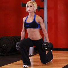 The top 3 leg exercises for women!  Get those lean legs you've always wanted and lift your booty with these 3 moves!  Posted by www.LiveLifeActive.com