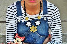 Ana Bacinger wears OGGI bijoux necklace Daisy...see on littlefashionparadise.com