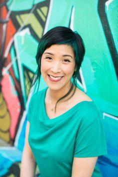 Not So Corporate Headshot for Bay Area author, Jennifer Lee. #photography #portrait #headshot