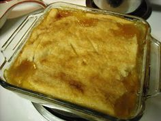 """Mommy's Kitchen - Country Cooking & Family Friendly Recipes: Semi Homemade Peach Cobbler for """"National Peach Cobbler Day"""" Peach Cobbler Crust, Can Peach Cobbler, Easy Peach Pie, Homemade Peach Cobbler, Southern Peach Cobbler, Easy Peach Cobbler Recipe With Pie Crust, Just Desserts, Dessert Recipes, Pie Recipes"""