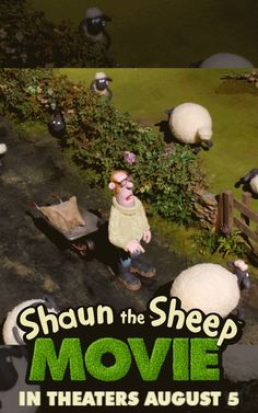This summer, don't fall a sheep! The #ShaunTheSheep movie is heading for a Big City adventure like never before. In theaters August 5th, 2015!