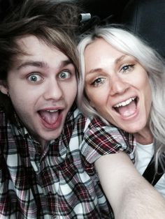 Michael and Lou May, 20, 2014--this is literally perfection i'm sorry i can't