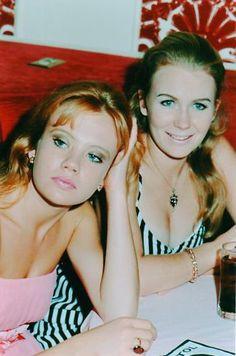 Hayley Mills and sister Juliet Mills //