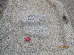 FOOTPRINTS OF SRI RAMA AT CHINTAMANI