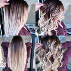 Are you going to balayage hair for the first time and know nothing about this technique? We've gathered everything you need to know about balayage, check! Hair Color Highlights, Hair Color Balayage, Ombre Balayage, Balyage Hair, Baylage, Haircolor, Cabelo Ombre Hair, Brown Blonde Hair, Blonde Ombre Hair Medium