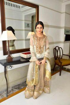 Outfit by: Ritu Kumar