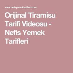 Orijinal Tiramisu Tarifi Videosu - Nefis Yemek Tarifleri