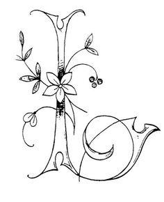 l - Monogrammes d'Antan