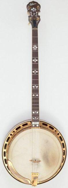 pre war Gibson Mastertone Tenor Banjo --- https://www.pinterest.com/lardyfatboy/