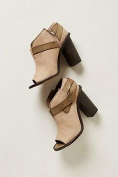 Embossed Snake Shooties #anthropologie