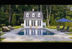I dream about pool houses