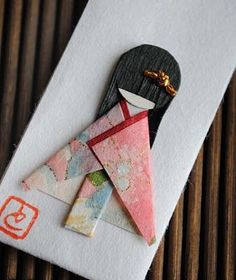 15 Adorable Origami Crafts I Love Japanese fashion? Learn to sew Japanese sewing patterns at www.japanesesewingpatterns.com/