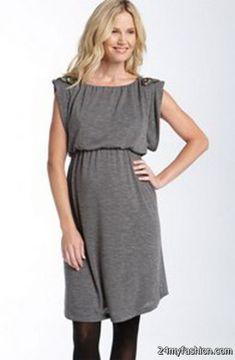 c1b869bde23 Nice Gray maternity dress 2018-2019 Check more at http   24myfashion.