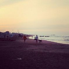 #spiaggia #estate #tramonto #sunset #beach #summer #sea #iloveit :-)