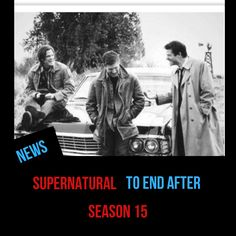 Supernatural is confirmed to end with its season Nothing Lasts Forever, Press Tour, Supernatural Seasons, Winchester Brothers, Stephen Amell, Very Excited, Misha Collins, Tv Shows, Winchester Boys