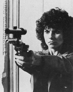 Adrienne Barbeau as Maggie in Escape from New York.  A Del Mar High graduate, she also attended Foothill College.