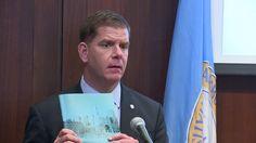 Mayor unveils Boston climate-change plan
