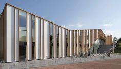 Het, Anker, Architect, MoederscheimMoonen, Location, Zwolle, Netherlands, Alucobond, Sparkling, White, Silver, Champagne, Metallic,…