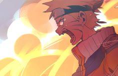 Naruto Uzumaki Angry Fox. NARUTO