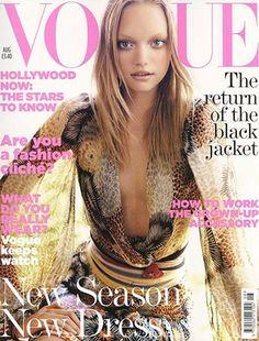British Vogue, August 2005, Gemma Ward