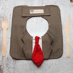 Business suit bib - so cute!