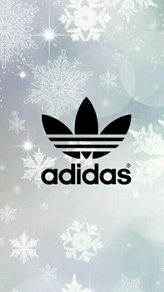 Adidas Tumblr Wallpaper with Snowflakes!❄