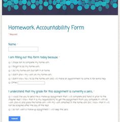 Today I thought I& share my new homework policy for next year which I& pretty excited about! My homework assignments are worth 2 points each and I grade them only for completion. While students work Middle School Classroom, Math Classroom, Google Classroom, Classroom Ideas, Classroom Organization, High School, Middle School Homework, Missing Homework, Homework Club