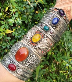 Rainbow Cuffs 🌈ॐ www.ohmboho.com ॐ