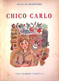 Portada de Chico Carlo de Juana de Ibarbourou. Ilustración de Amalia Nieto (1907-2003), 1944. http://www.yekibud.es/2013/08/11/la-mancha-de-humedad/
