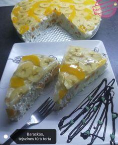 Barackos-joghurtos túró torta