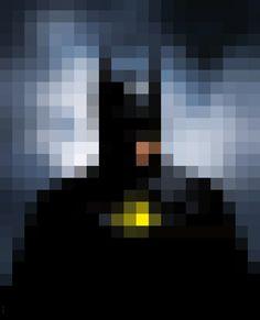 PIXELEON - Batman available here :http://society6.com/Gregguillemin/PIXELEON-batman_Print